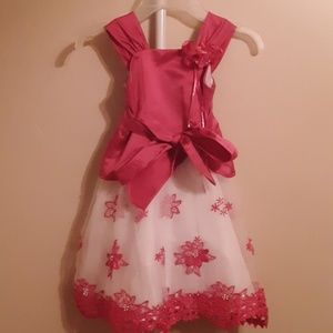 Gorgeous Pink formal sequined dress 3T